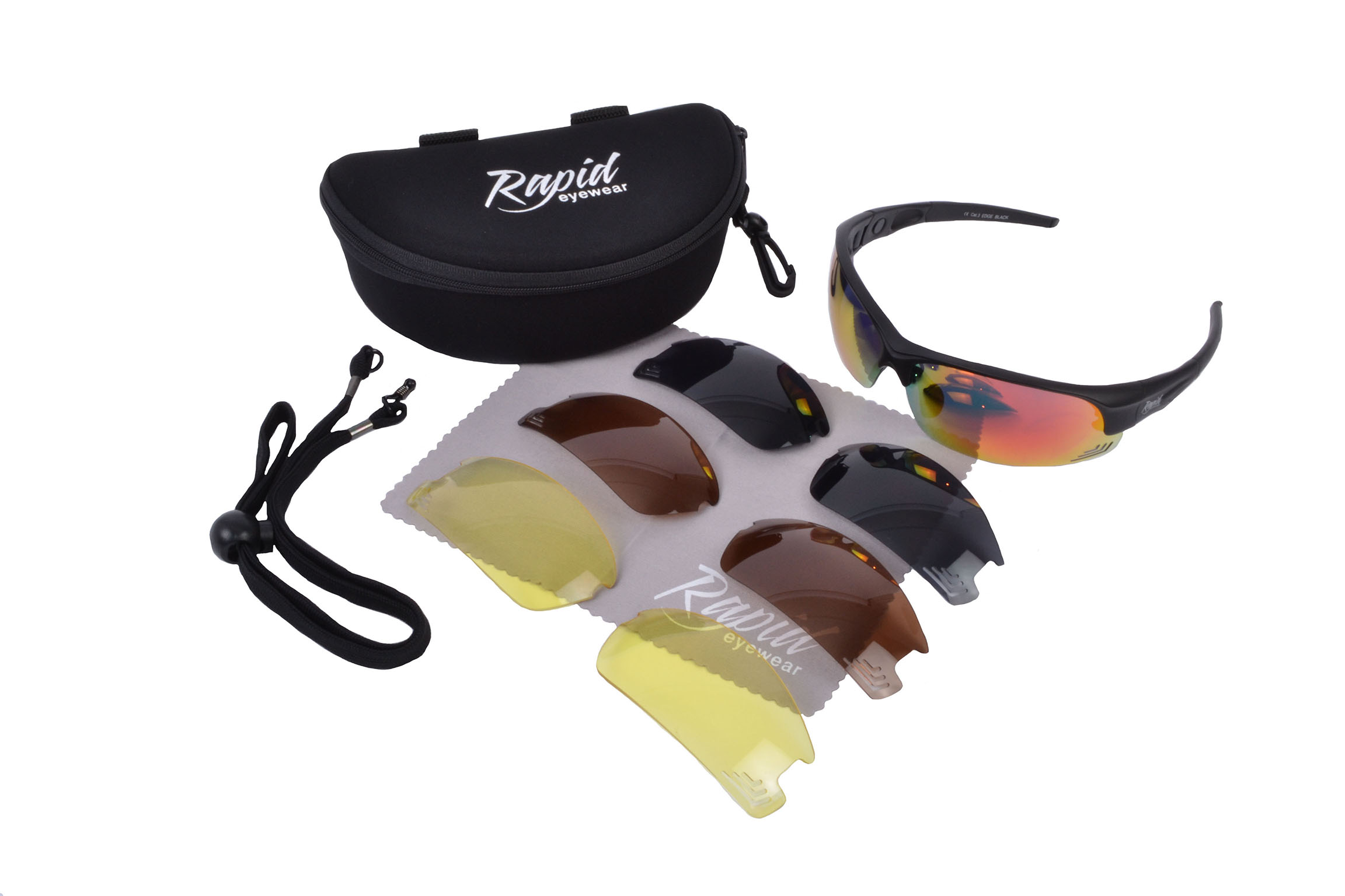 Edge Black RC Modelglasses