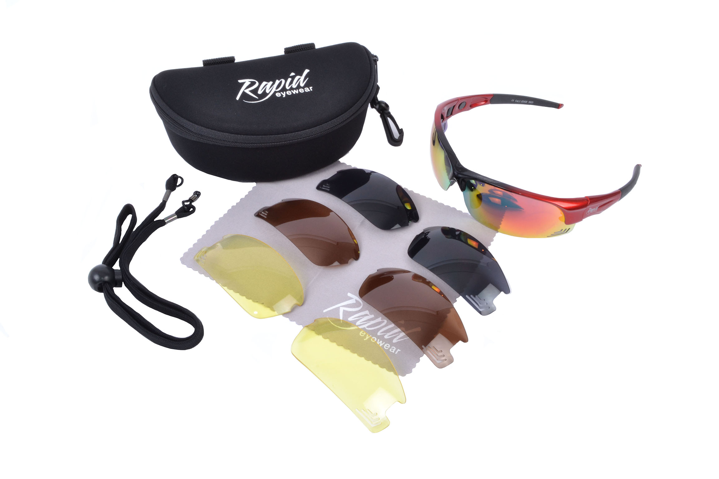 Edge Red RC Model Flying Sunglasses