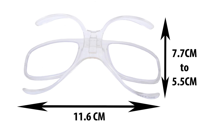 8500e7387ff4 Universal Rx Insert For Ski Goggles With Prescription Lenses Added