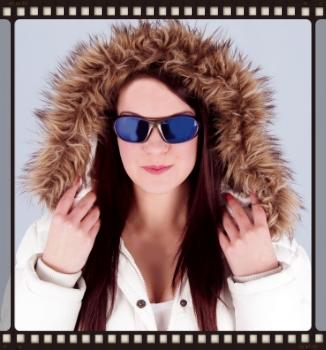 Ski sunglasses goggles for women