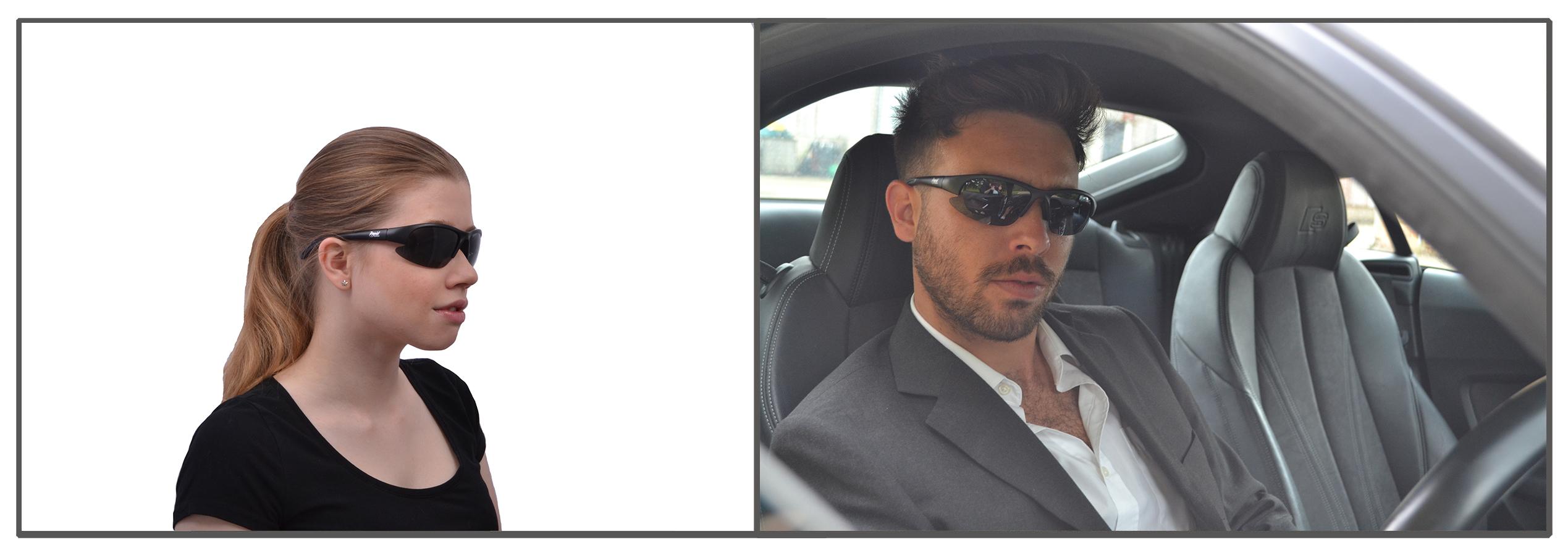 Drive Black Sunglasses