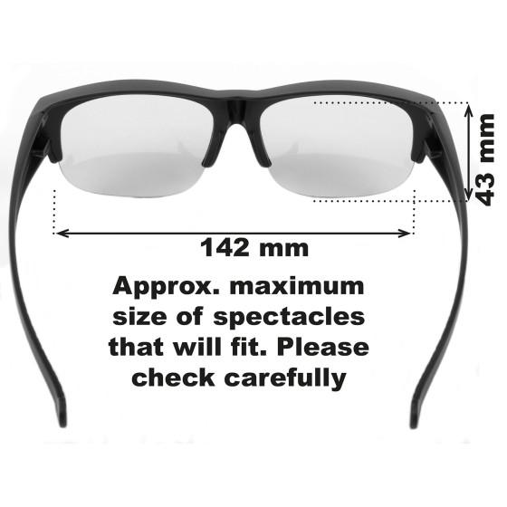Very Dark Category 4 Over Glasses