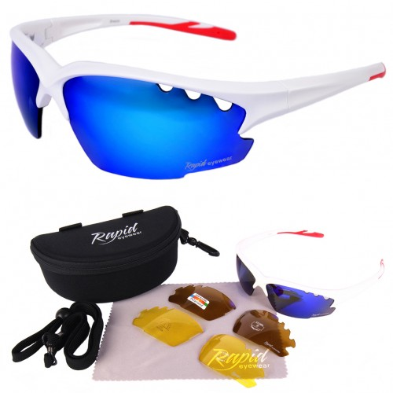 Breeze weiß Sportbrille