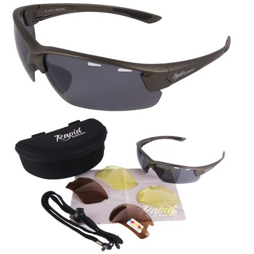 Groove Polarised Tennis Sunglasses