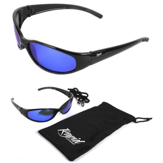 'Float' noir lunettes de solaires