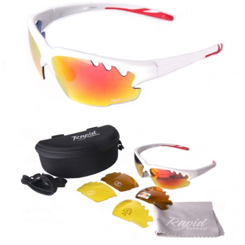 Ice White Sunglasses for Cricket
