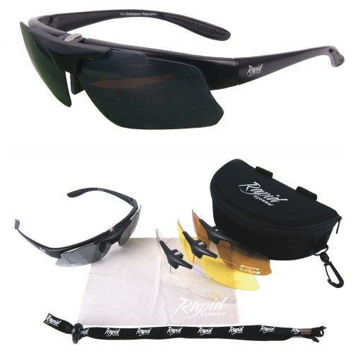 Rx Prescription Biker Sunglasses