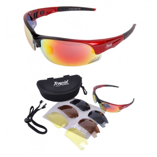 Edge Red RC Model Glasses