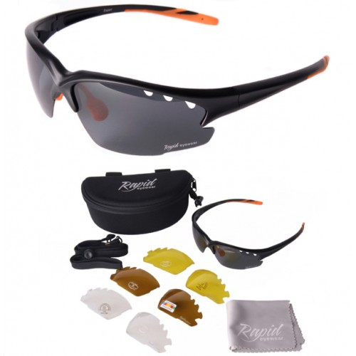 Fusion Polarised Running Sunglasses