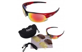 Edge Red Tennis Sunglasses