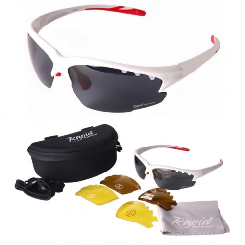 Luna Polarized Tennis Sunglasses
