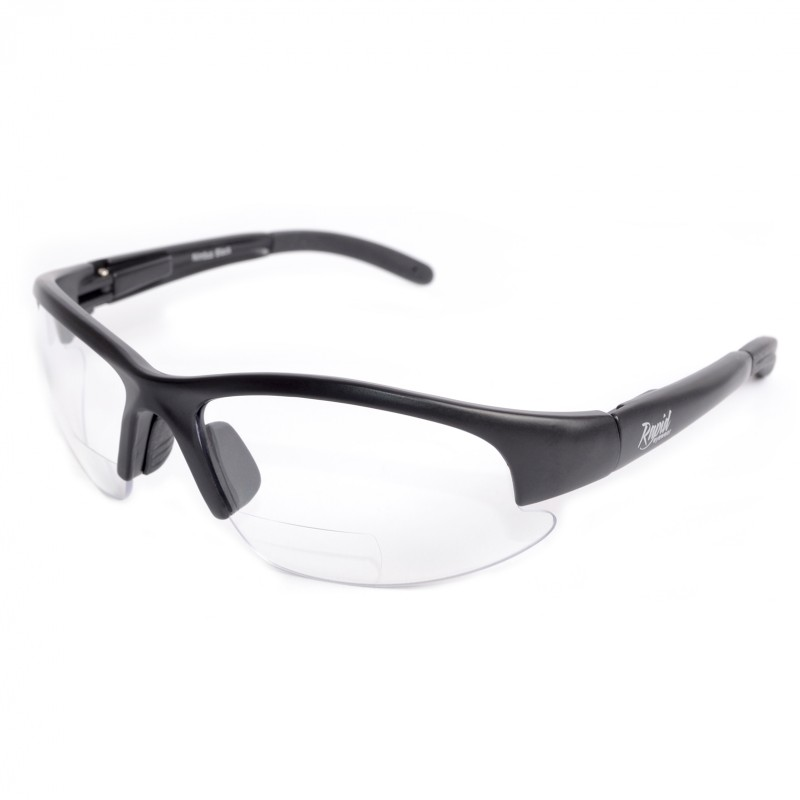 Clear Bifocal Sports Safety Glasses