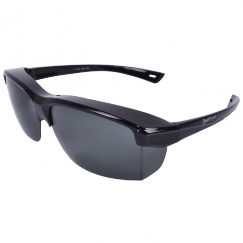 Mens-Womens Wide-Fit Over Glasses Sunglasses