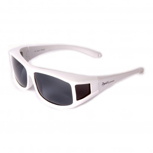 Sunglasses That Fit Over Glasses: White