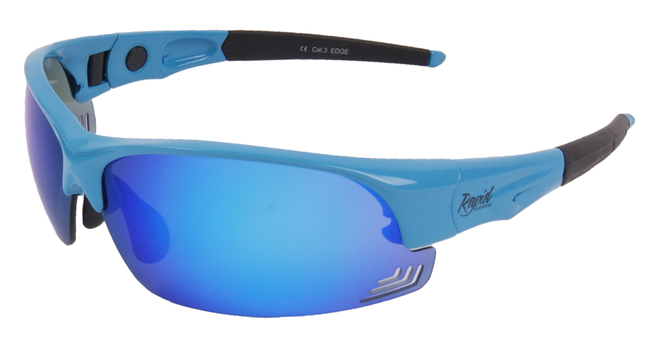Edge Blue sunglasses changeable