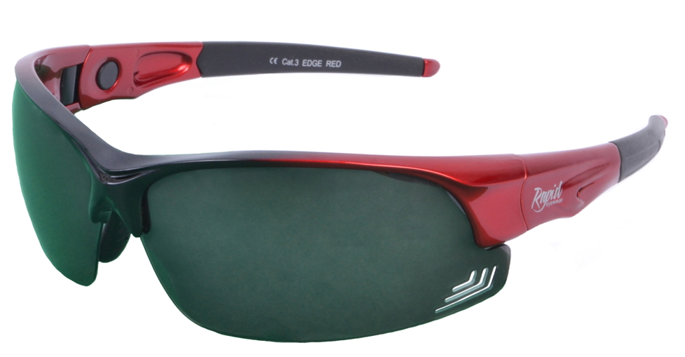 Edge Red sunglasses for golf