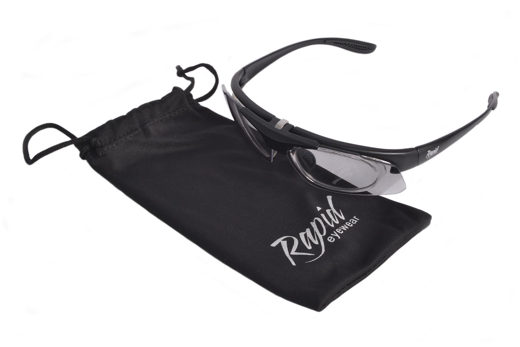 Prescription transition sunglasses for sport