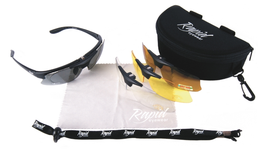 Rapid Eyewear Pro Performance Plus Rx polarized prescription sunglasses for sport