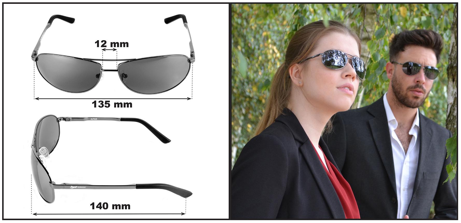 Bikerbrille - aviator style. Altius
